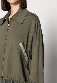 Mos Mosh - DARCY RONO JACKET - Bomber Jacket - grape leaf - 4