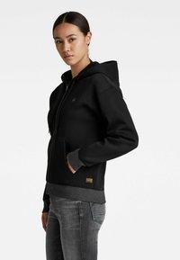 G-Star - PREMIUM CORE - Sweater met rits - black - 0