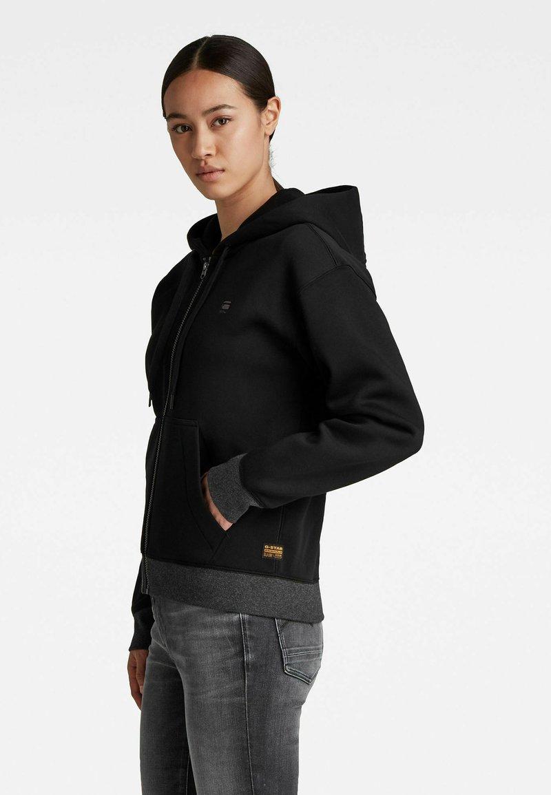 G-Star - PREMIUM CORE - Sweater met rits - black