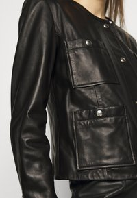 Iro - COMPLET  - Leather jacket - black - 6