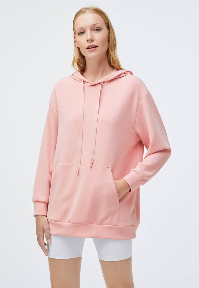 NORMAL - Sweat à capuche - rose