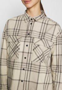 Dr.Denim - NATAHLIE  - Button-down blouse - cashew - 5