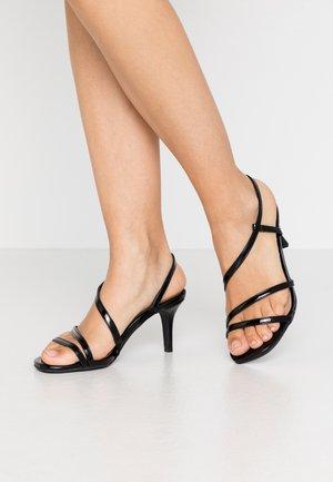 WIDE FIT MONTREAL - Sandals - black