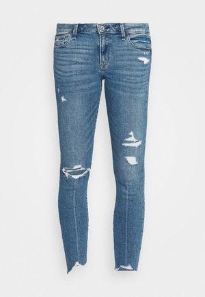 MED DEST MR ANK - Jeans Skinny Fit - medium destroy chewy