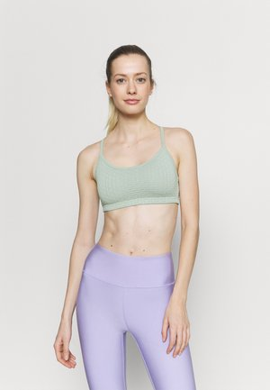 WORKOUT YOGA CROP - Light support sports bra - mint