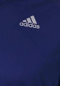 adidas Performance - RESPONSE AEROREADY RUNNING SHORT SLEEVE TEE - T-shirt z nadrukiem - victory blue - 2