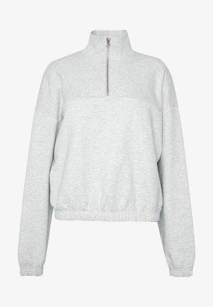 LOU  - Sweatshirt - light grey melange
