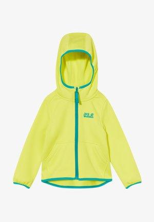 KIEWA UNISEX - Fleece jacket - flashing green
