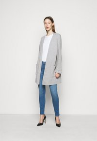 FTC Cashmere - CARDIGAN LONG - Cardigan - silver stone - 1