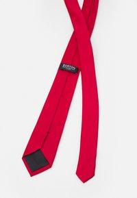 Burton Menswear London - EPP BRIGHT - Tie - red - 1
