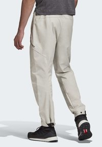 adidas Performance - TERREX HIKERELAX TROUSERS - Trousers - grey - 2
