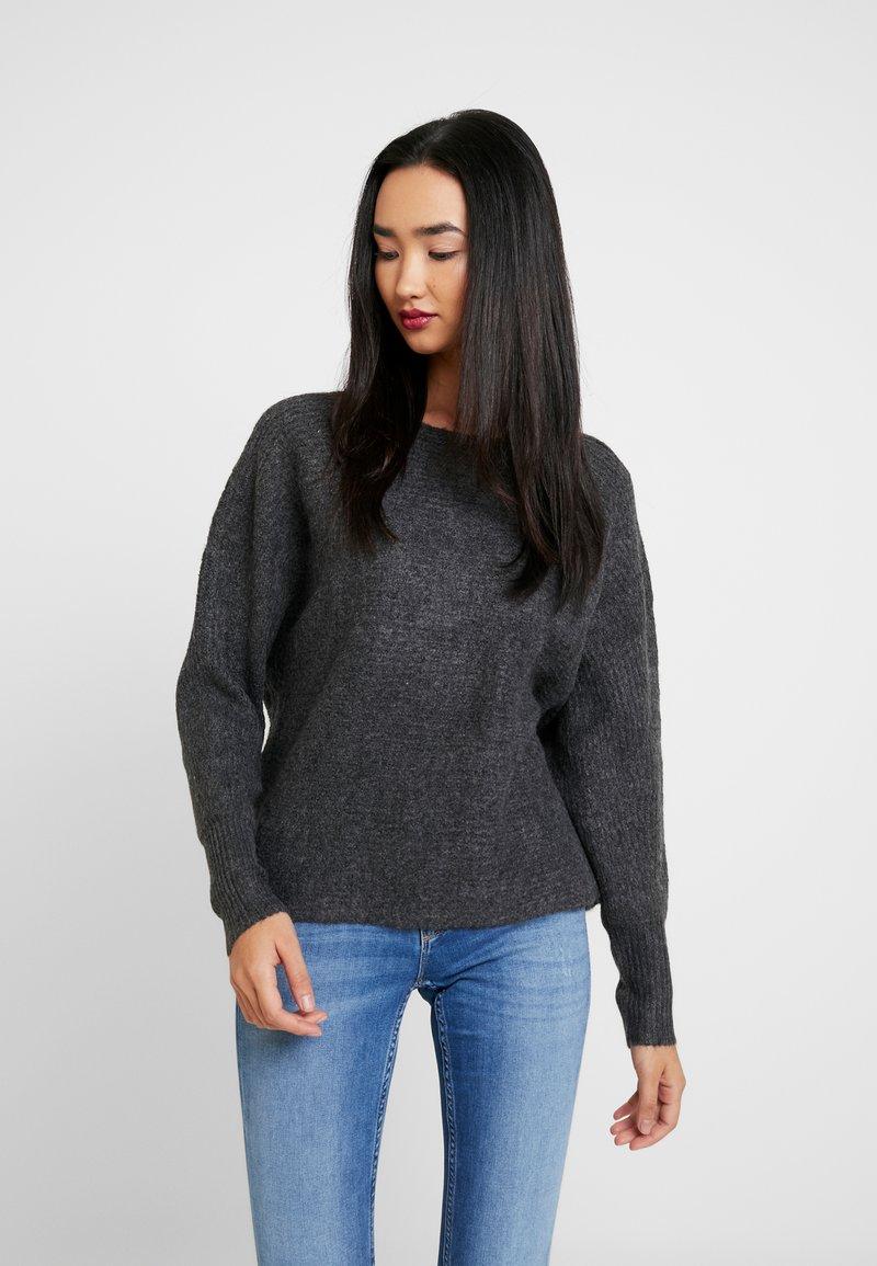 ONLY - ONLDANIELLA  - Jumper - dark grey melange