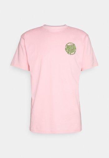 UNISEX TOXIC DOT - Print T-shirt - pink