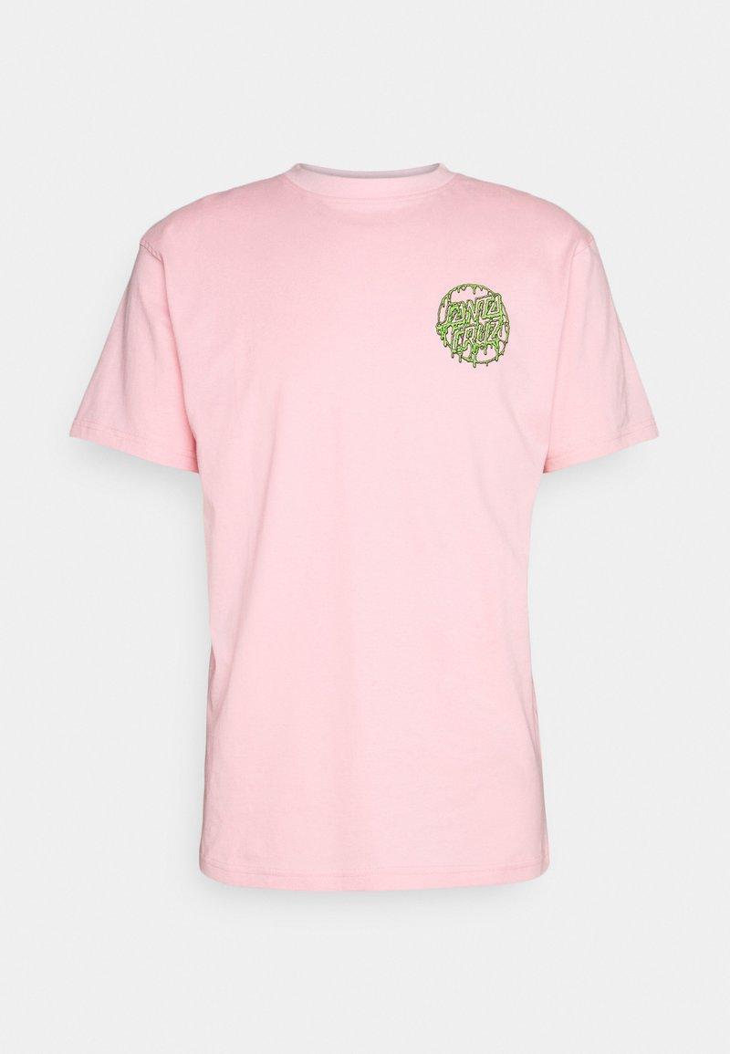 Santa Cruz - UNISEX TOXIC DOT - Triko spotiskem - pink