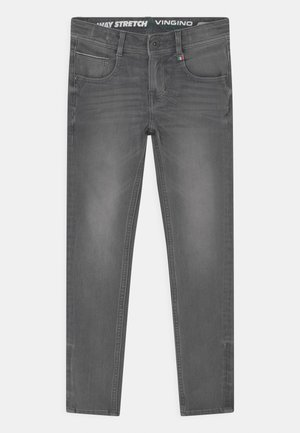 ALFONS - Relaxed fit jeans - light grey