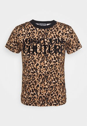 LEO - T-shirts print - brown