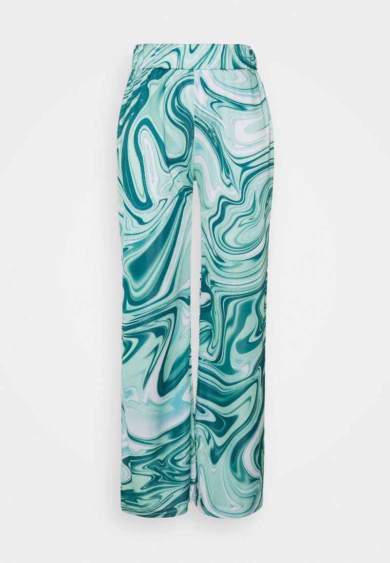 HOSBJERG - ASTA OLIVIA PANTS - Trousers - green liquid