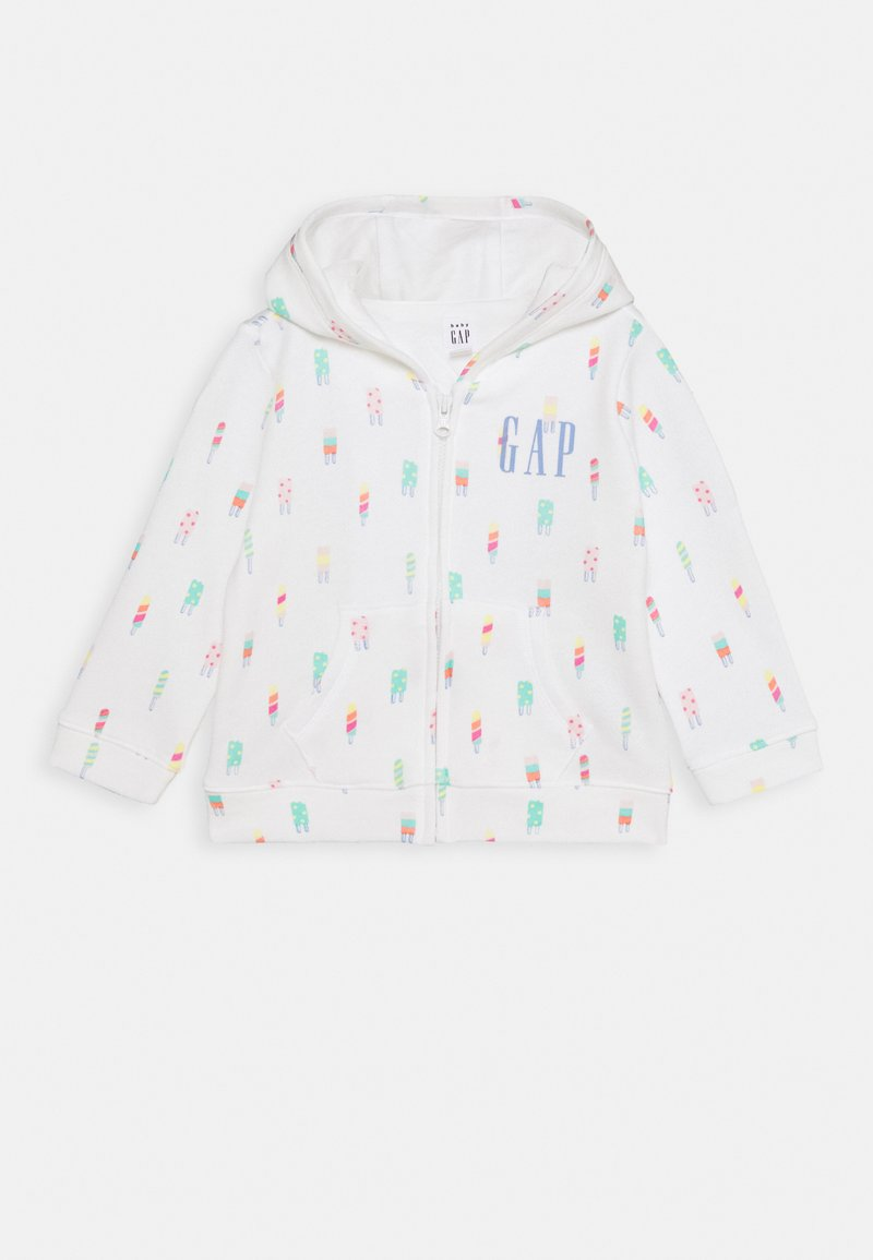 GAP - ARCH HOOD - Sweat à capuche - new off white