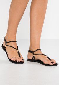 Anna Field - T-bar sandals - black - 0