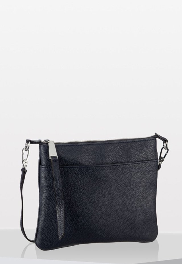 CALF ADRIA  - Across body bag - navy