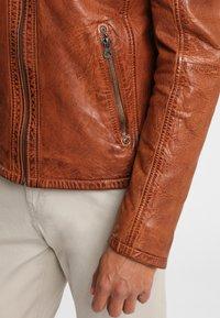 Gipsy - ARNY STUV - Leather jacket - cognac - 4
