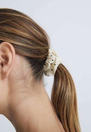 3 DOT PRINT SCRUNCHIES - Accessori capelli - black, grey, beige