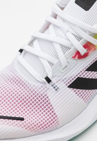 adidas Performance - ALPHATORSION - Zapatillas de running neutras - footwear white/core black/power pink - 5