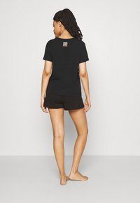 Calvin Klein Underwear - ICONIC LOUNGE SLEEP - Pyjamahousut/-shortsit - black - 2