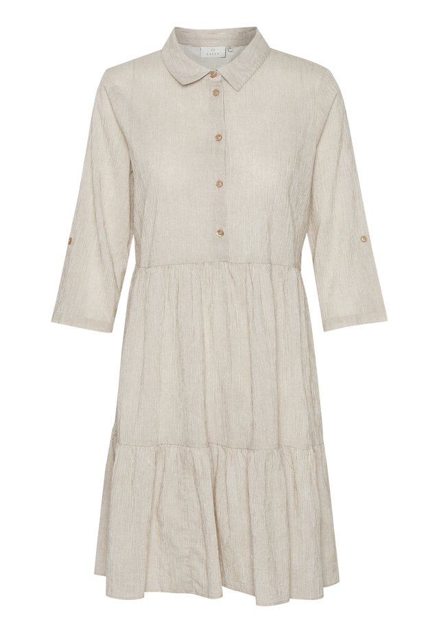 KAFFE KAVIVIAN DENIKE - Shirt dress - ermine