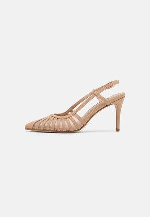 DARBY MULTI STRAP 2 PART COURT - Classic heels - blush