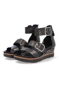 MJUS - Platform sandals - nero - 2