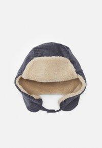 maximo - KIDS CORDUROY HAT UNISEX - Hat - anthrazit/flanell - 0