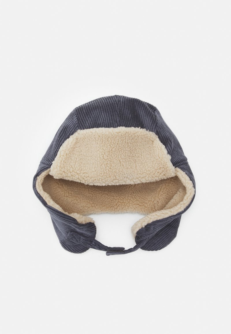 maximo - KIDS CORDUROY HAT UNISEX - Hat - anthrazit/flanell