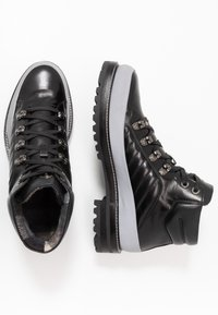 Bogner - NEW LECH - Lace-up ankle boots - black/silver - 1