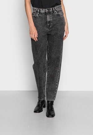 TROUSERS PAM BLACK ACID - Jeans straight leg - black