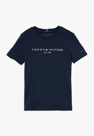 ESSENTIAL TEE  - T-shirt med print - blue