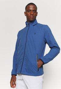 Polo Ralph Lauren Golf - HOOD ANORAK JACKET - Outdoor jacket - bastille blue - 4
