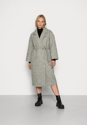 OBJJOYCE COAT - Mantel - light grey melange