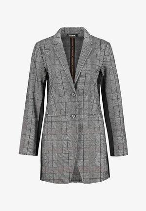 MIT GLENCHECK-KARO - Short coat - black gemustert