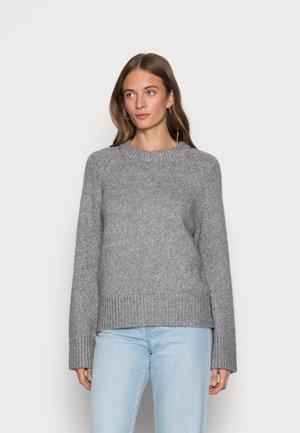 SLFOLIVE O NECK - Jumper - light grey melange