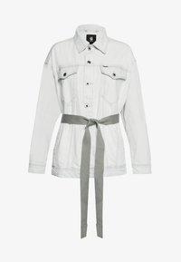 G-Star - REAL BOYFRIEND - Denim jacket - beach faded larimar - 0