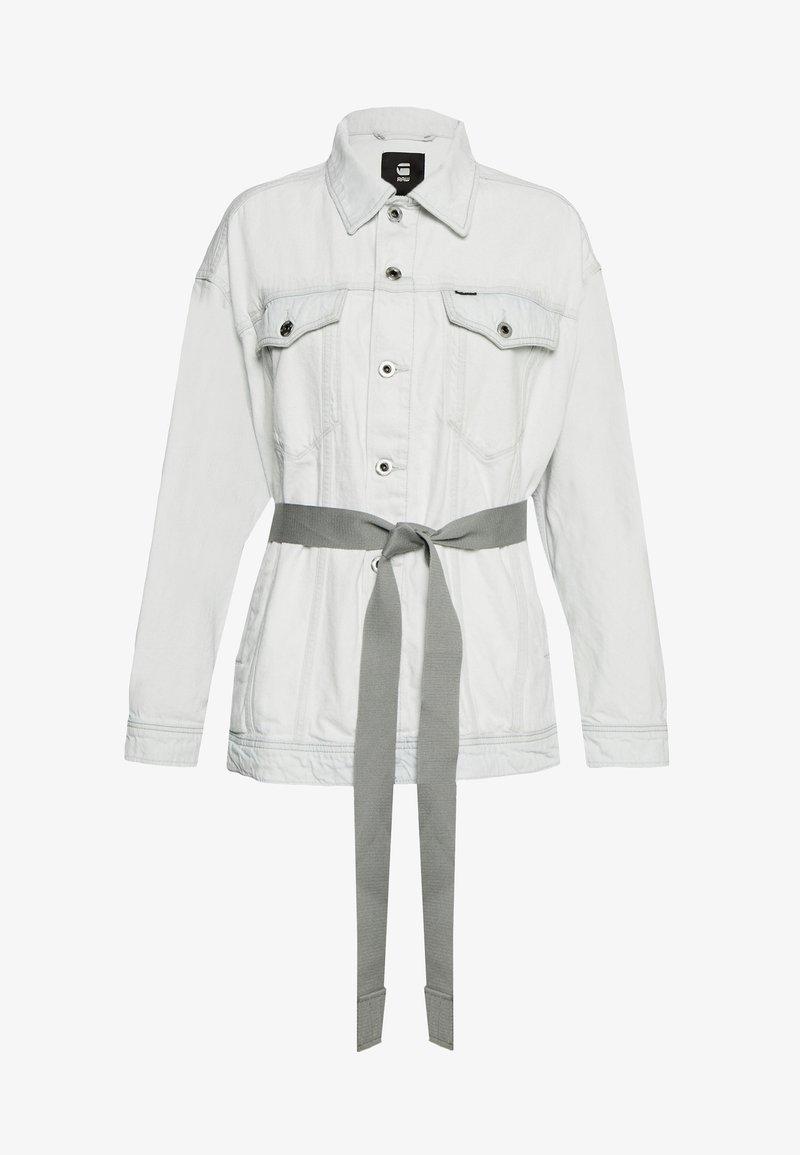G-Star - REAL BOYFRIEND - Denim jacket - beach faded larimar
