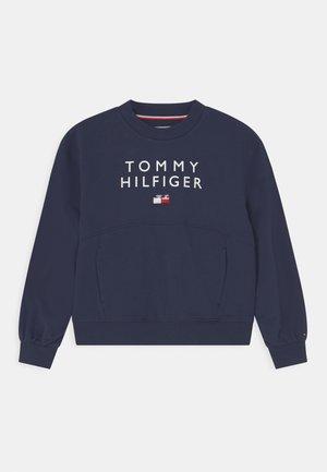 PLEATED SLEEVE - Sweater - twilight navy