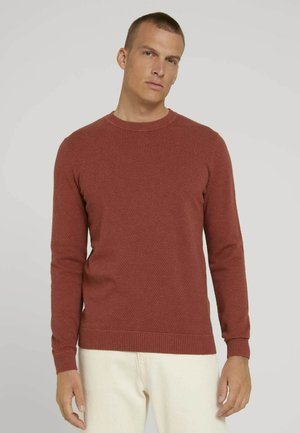 STRUCTURE - Sweater - spicy chocolate melange