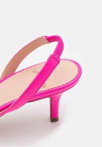 J.CREW - SIMPLE SLINGBACK NAN  - Sandals - neon flamingo - 6