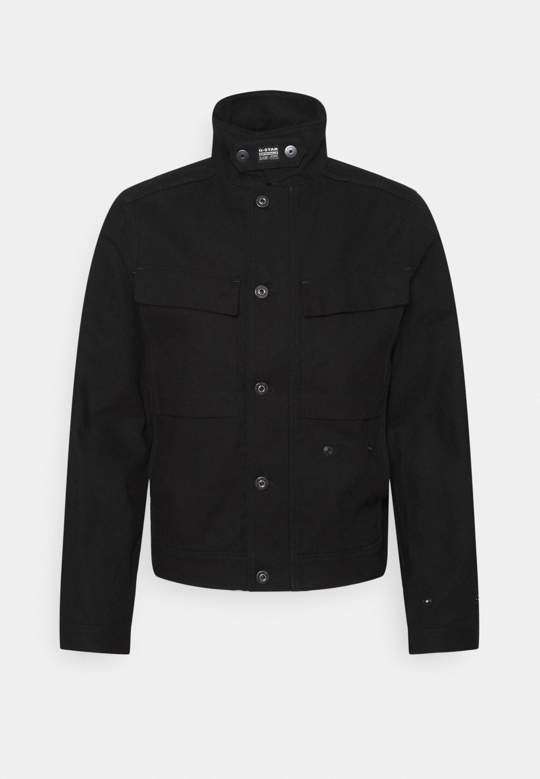 Men SHORT BIKER OVERSHIRT - Summer jacket