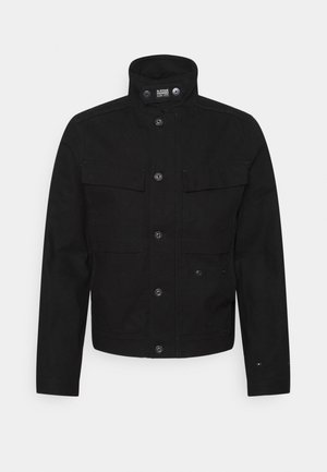 SHORT BIKER OVERSHIRT - Summer jacket - black