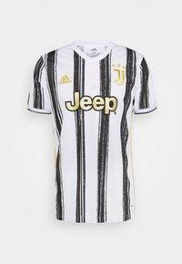 adidas Performance - JUVENTUS AEROREADY SPORTS FOOTBALL  - Squadra - white/black - 4