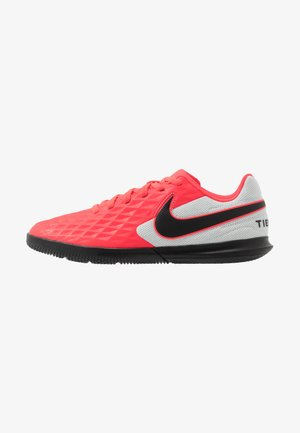 TIEMPO JR LEGEND 8 CLUB IC UNISEX - Indoor football boots - laser crimson/black/white
