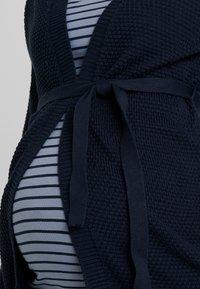 MAMALICIOUS - MLCRYSTALINE CARDIGAN - Cardigan - navy blazer - 4